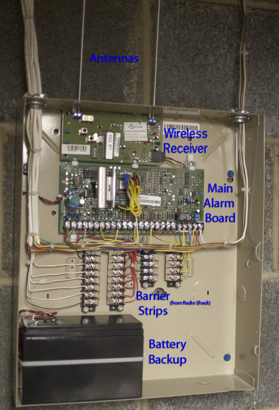 fool on the hill blog archive diy home security alarm rh hugger us addressable fire alarm control panel wiring diagram alarm panel installing